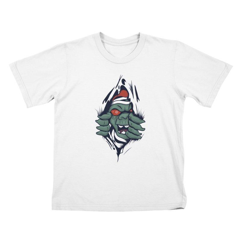 Espiritus del mas alla Kids T-Shirt by damian's Artist Shop