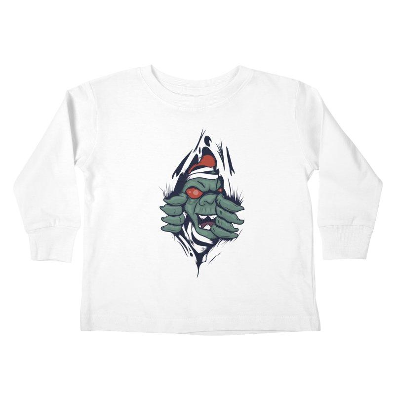 Espiritus del mas alla Kids Toddler Longsleeve T-Shirt by damian's Artist Shop