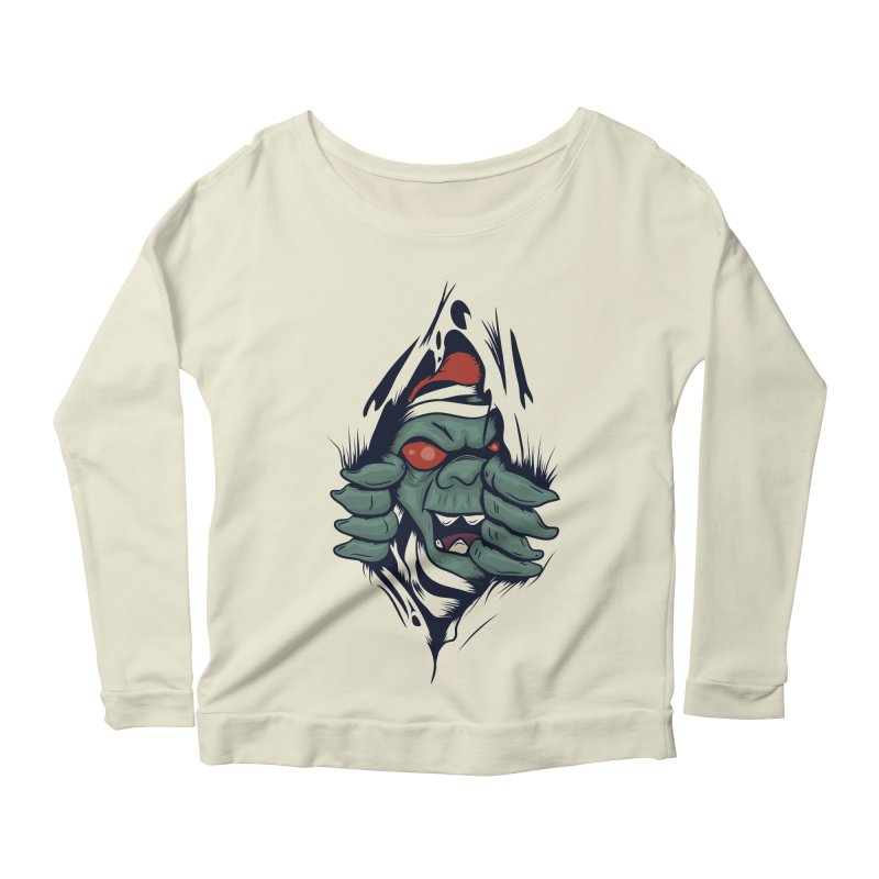 Espiritus del mas alla Women's Scoop Neck Longsleeve T-Shirt by damian's Artist Shop