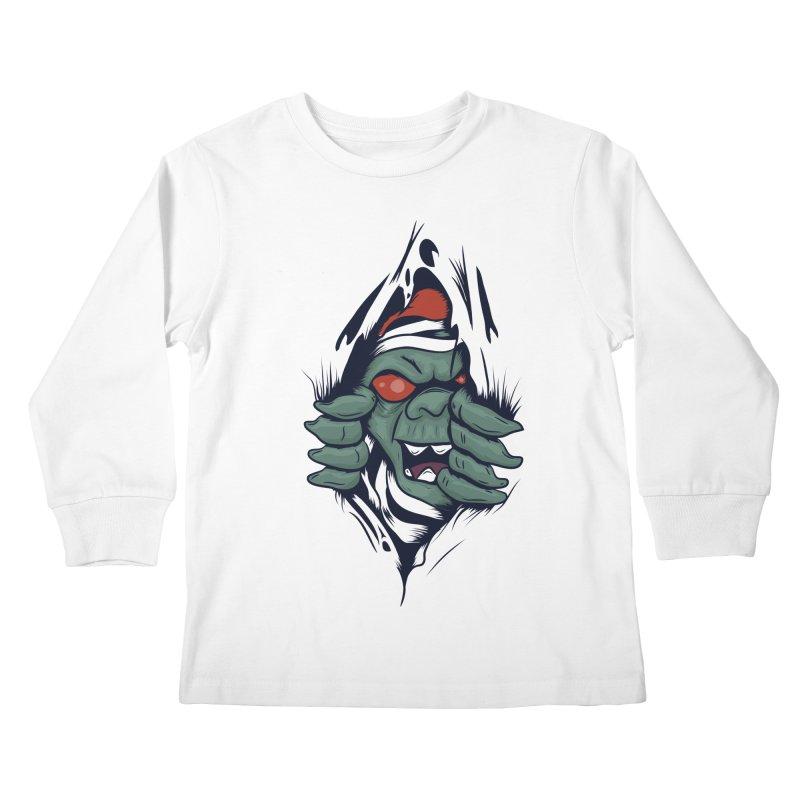 Espiritus del mas alla Kids Longsleeve T-Shirt by damian's Artist Shop