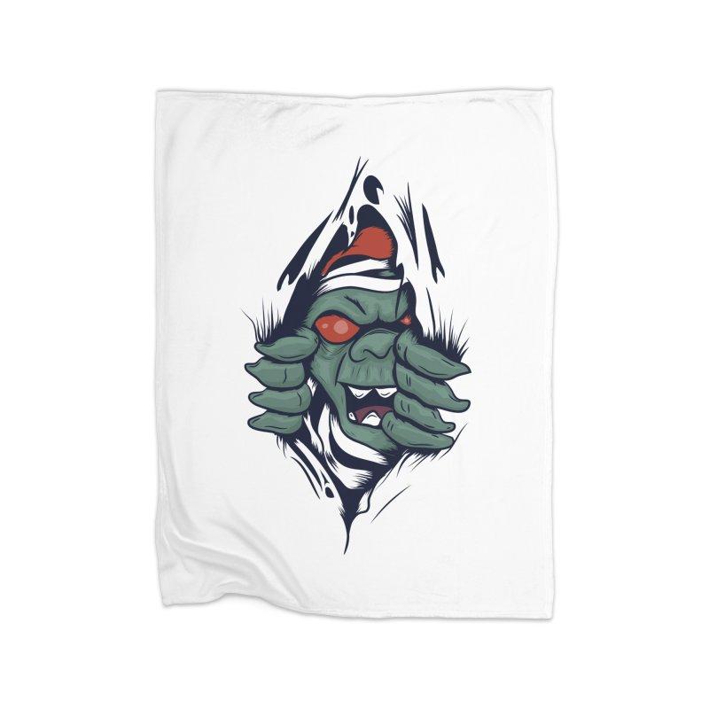 Espiritus del mas alla Home Blanket by damian's Artist Shop