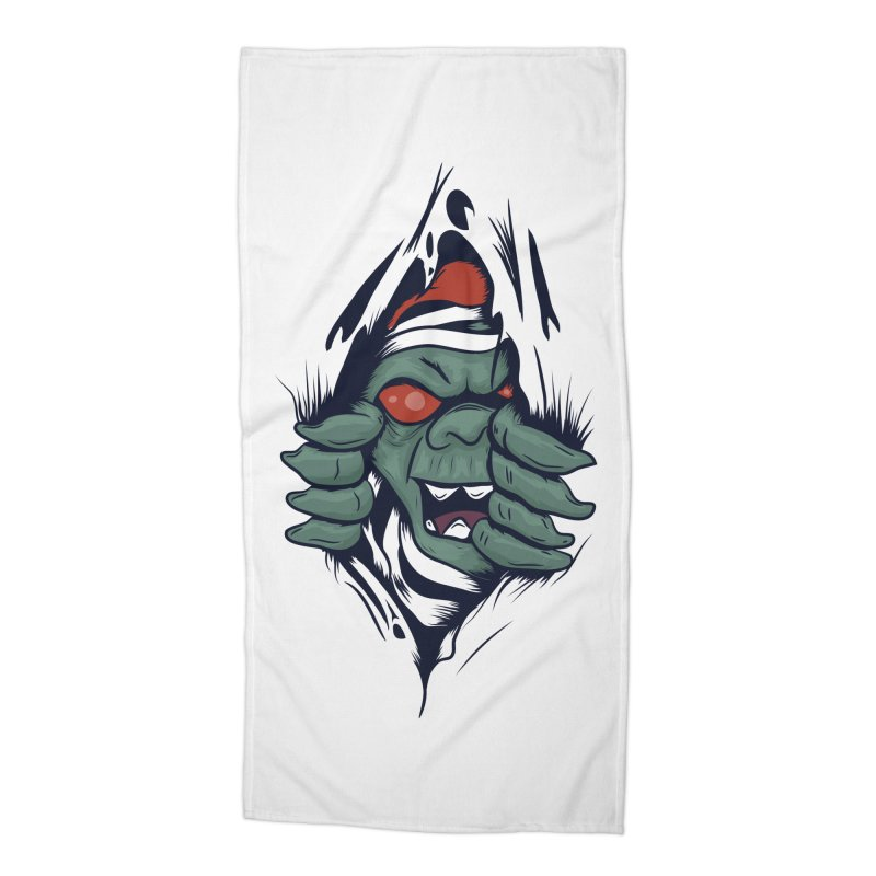 Espiritus del mas alla Accessories Beach Towel by damian's Artist Shop