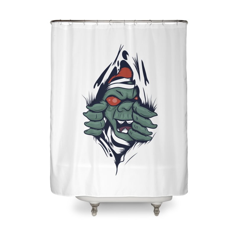 Espiritus del mas alla Home Shower Curtain by damian's Artist Shop