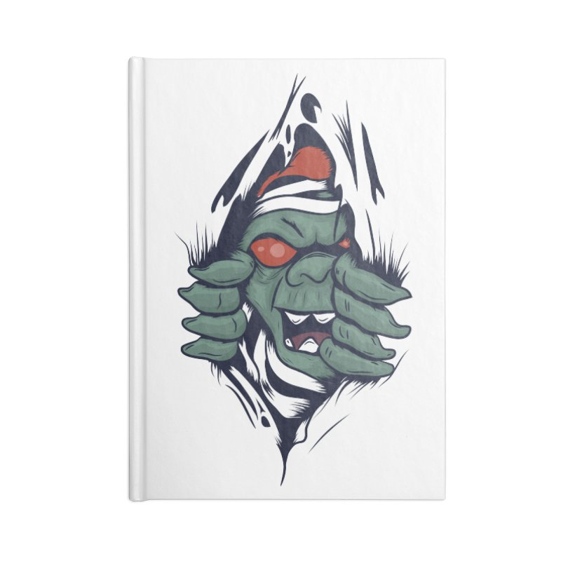 Espiritus del mas alla Accessories Blank Journal Notebook by damian's Artist Shop