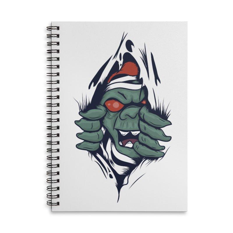Espiritus del mas alla Accessories Lined Spiral Notebook by damian's Artist Shop