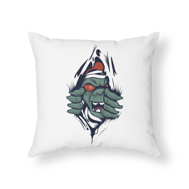 Espiritus del mas alla Home Throw Pillow by damian's Artist Shop