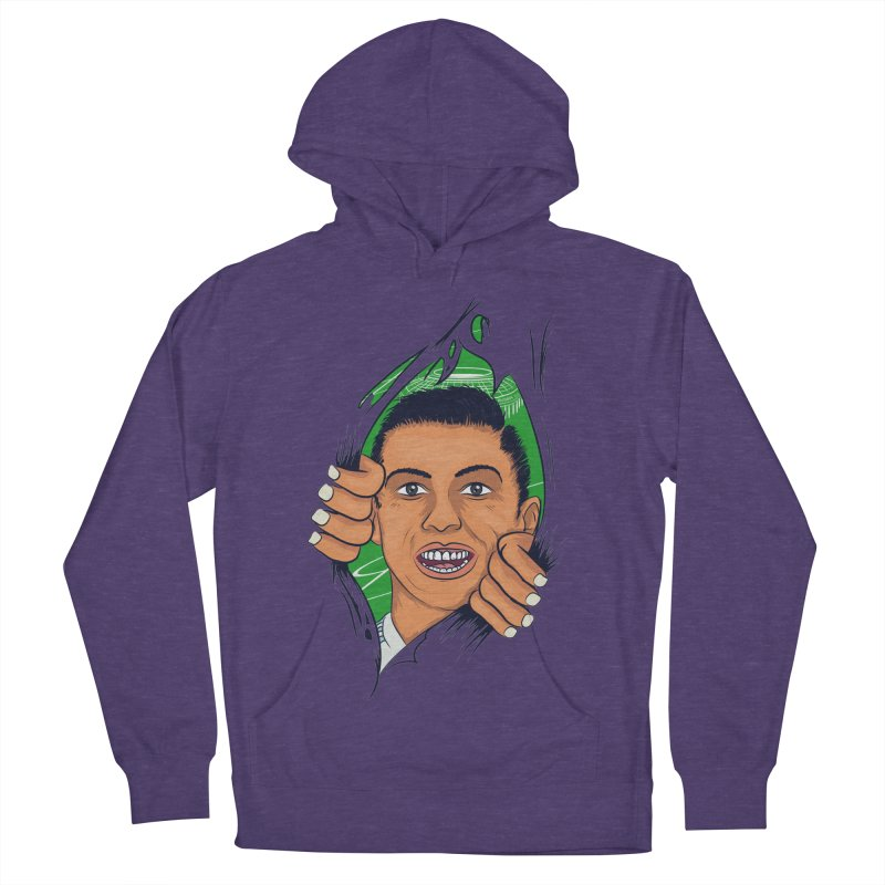 RUSSIA 2018 Men's French Terry Pullover Hoody by damian's Artist Shop