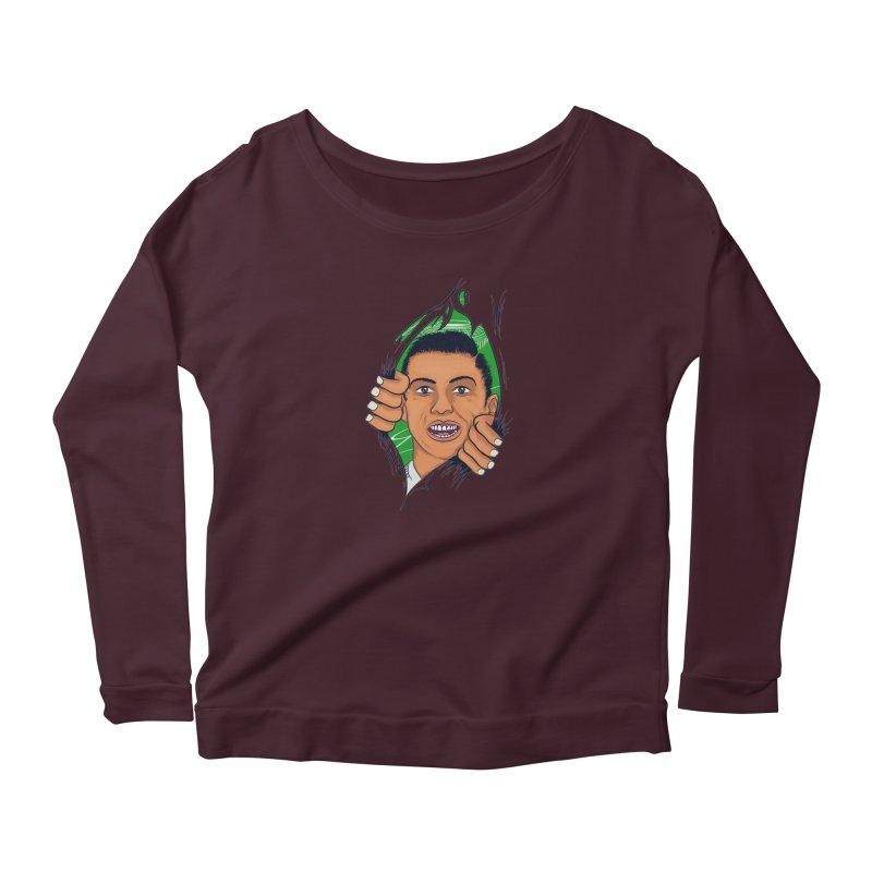 RUSSIA 2018 Women's Scoop Neck Longsleeve T-Shirt by damian's Artist Shop