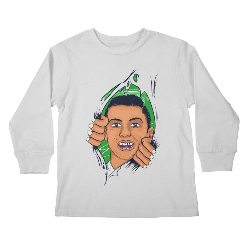 RUSSIA 2018 Kids Longsleeve T-Shirt by damian's Artist Shop