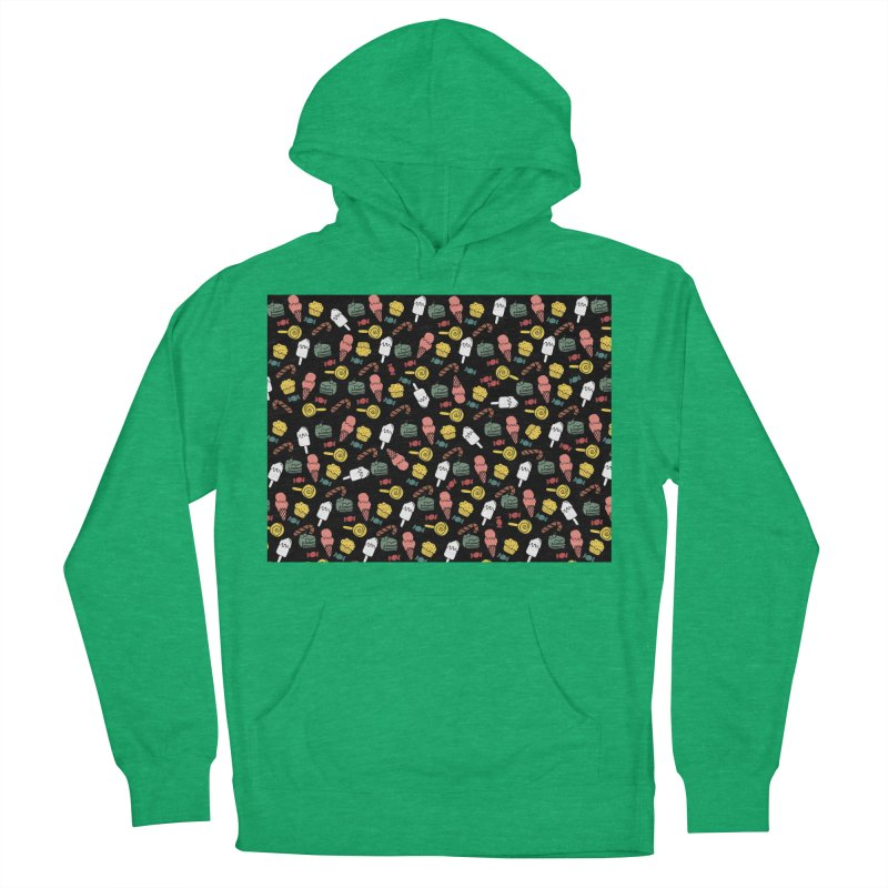 dulces Women's French Terry Pullover Hoody by damian's Artist Shop