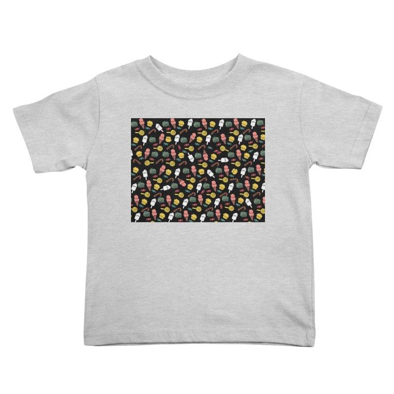 dulces Kids Toddler T-Shirt by damian's Artist Shop