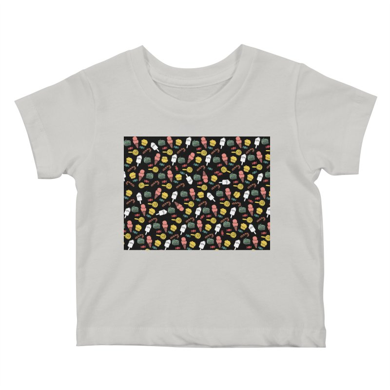 dulces Kids Baby T-Shirt by damian's Artist Shop