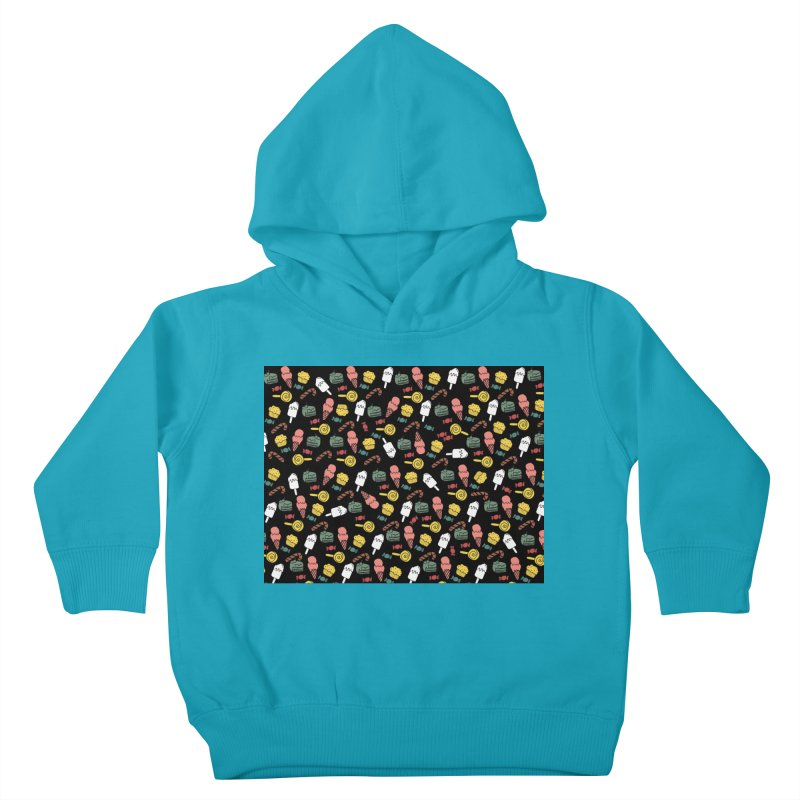 dulces Kids Toddler Pullover Hoody by damian's Artist Shop