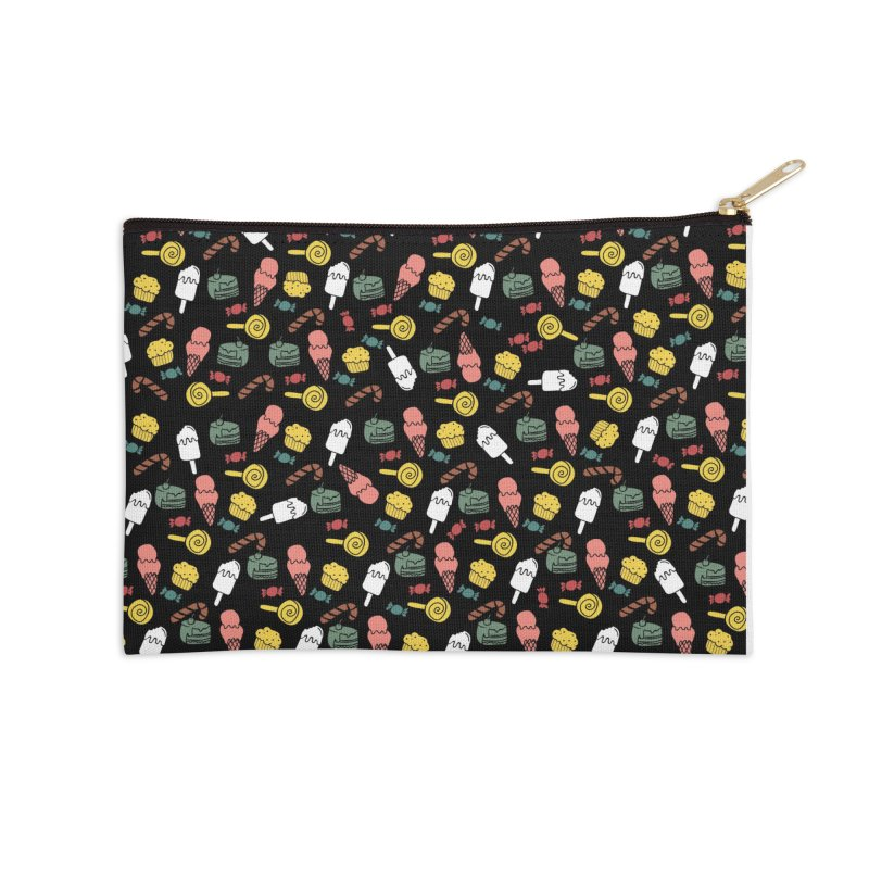 dulces Accessories Zip Pouch by damian's Artist Shop