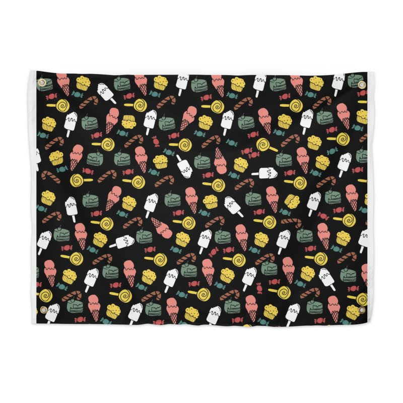dulces Home Tapestry by damian's Artist Shop
