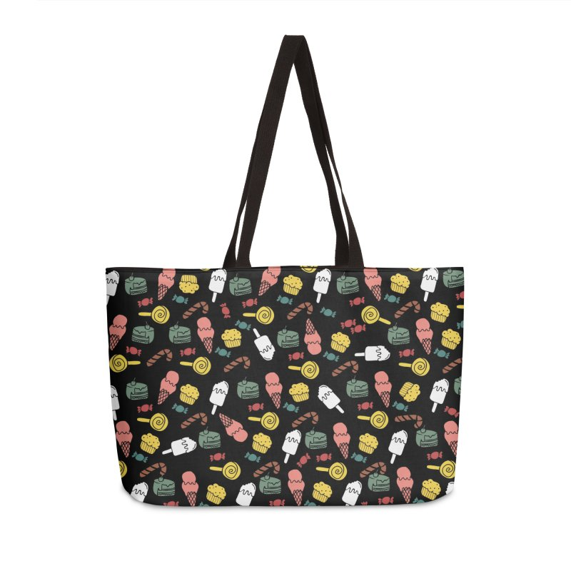 dulces in Weekender Bag by damian's Artist Shop