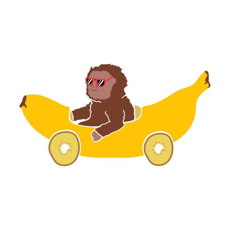 Banana Car by damian's Artist Shop