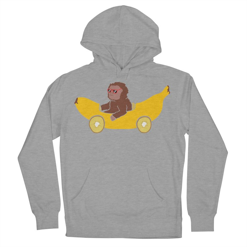 Banana Car Women's Pullover Hoody by damian's Artist Shop