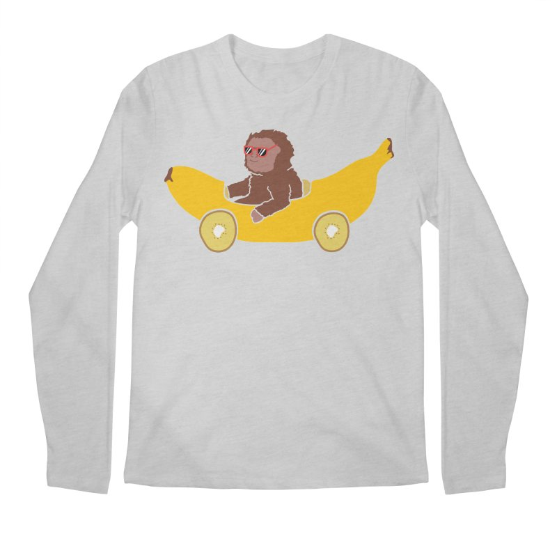 Banana Car Men's Regular Longsleeve T-Shirt by damian's Artist Shop