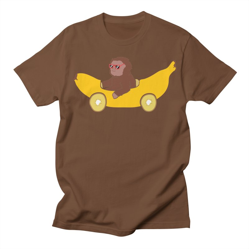 Banana Car Men's Regular T-Shirt by damian's Artist Shop