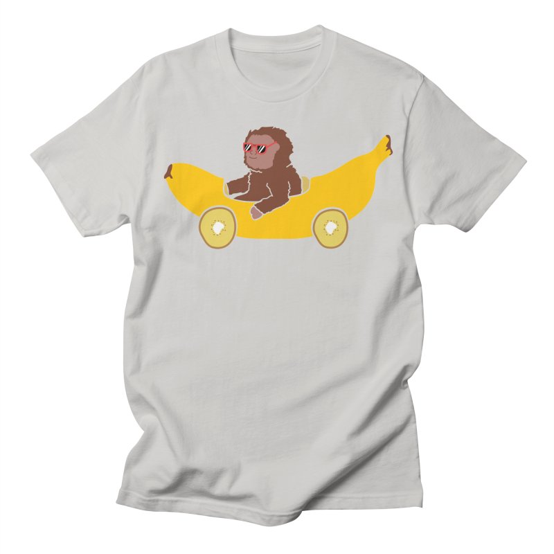 Banana Car Women's Regular Unisex T-Shirt by damian's Artist Shop