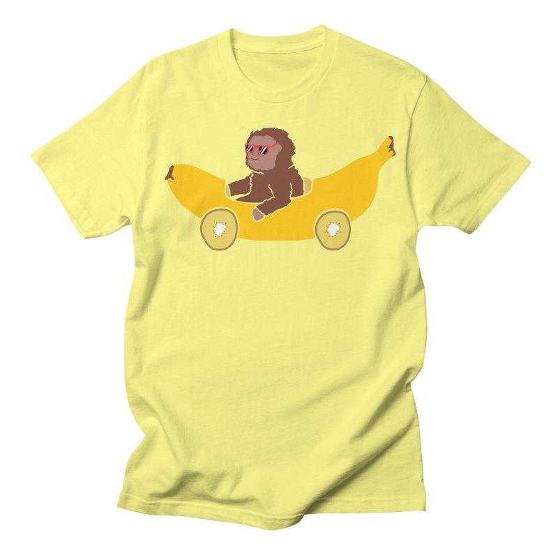 Banana Car Men's Regular T-Shirt by damian's Artist Shop