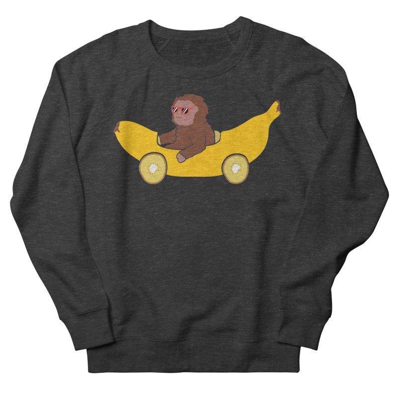Banana Car Women's Sweatshirt by damian's Artist Shop