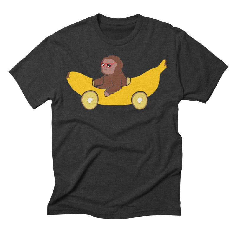 Banana Car Men's Triblend T-Shirt by damian's Artist Shop
