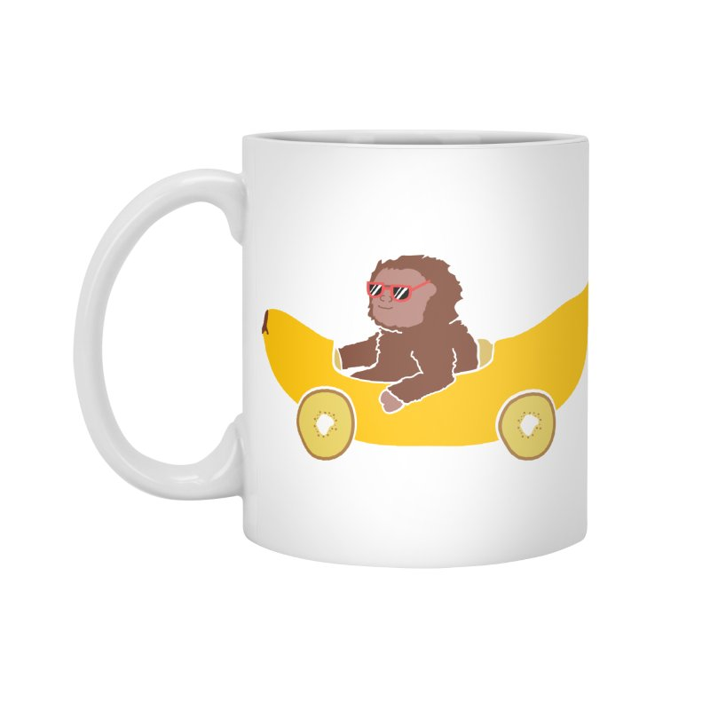 Banana Car Accessories Mug by damian's Artist Shop
