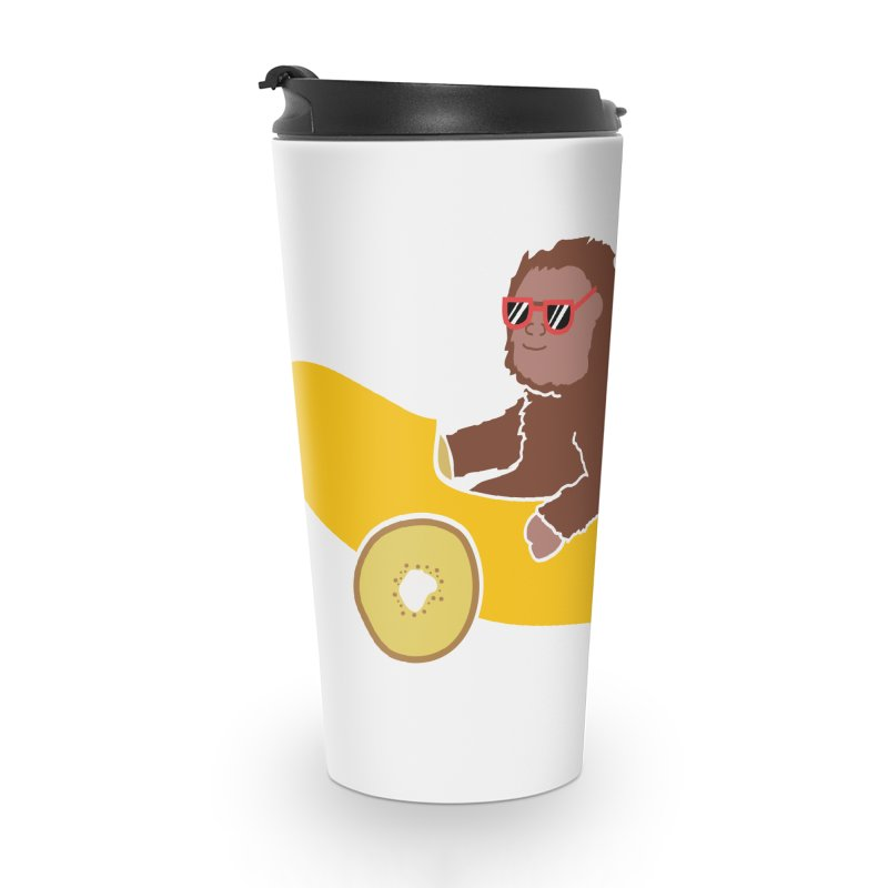 Banana Car Accessories Travel Mug by damian's Artist Shop