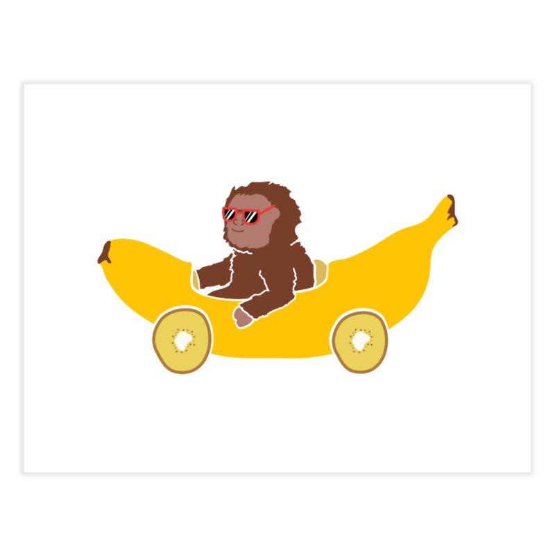 Banana Car Home Fine Art Print by damian's Artist Shop