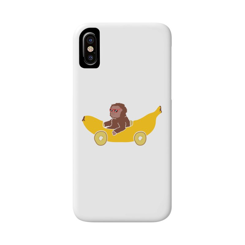 Banana Car Accessories Phone Case by damian's Artist Shop