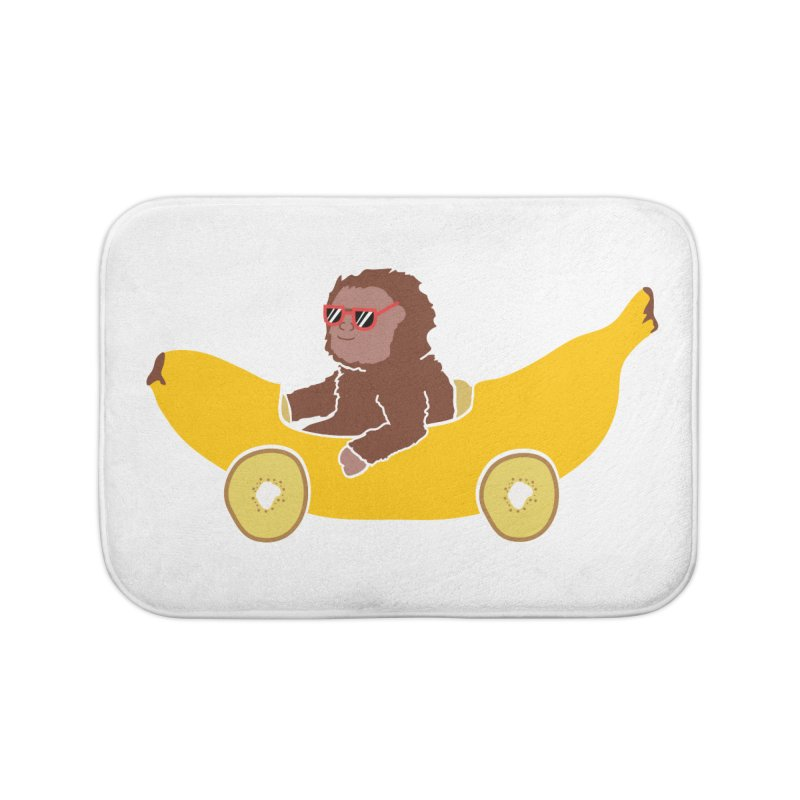 Banana Car Home Bath Mat by damian's Artist Shop