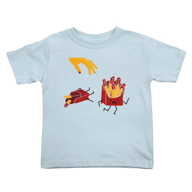 Corre por tú Vida Kids Toddler T-Shirt by damian's Artist Shop