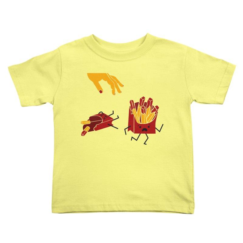 Corre por tú Vida Kids Toddler T-Shirt by damian's Artist Shop