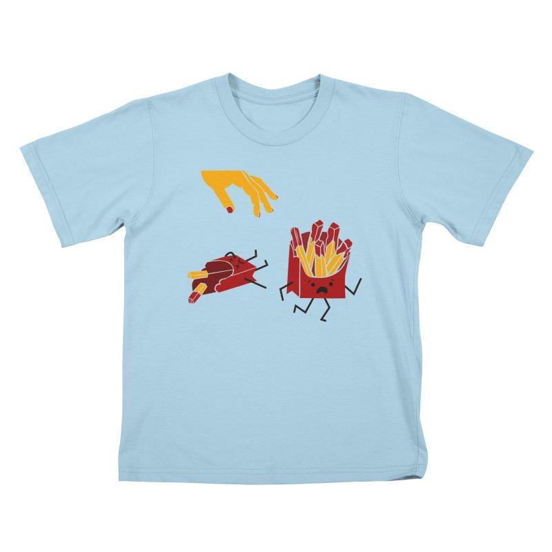 Corre por tú Vida Kids T-Shirt by damian's Artist Shop