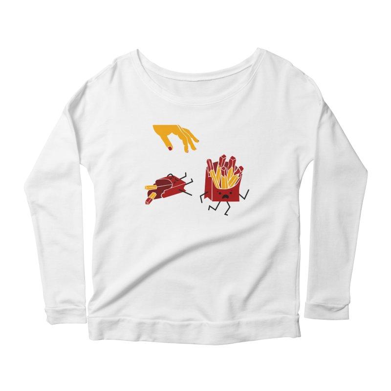 Corre por tú Vida Women's Scoop Neck Longsleeve T-Shirt by damian's Artist Shop