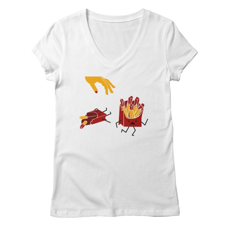 Corre por tú Vida Women's Regular V-Neck by damian's Artist Shop