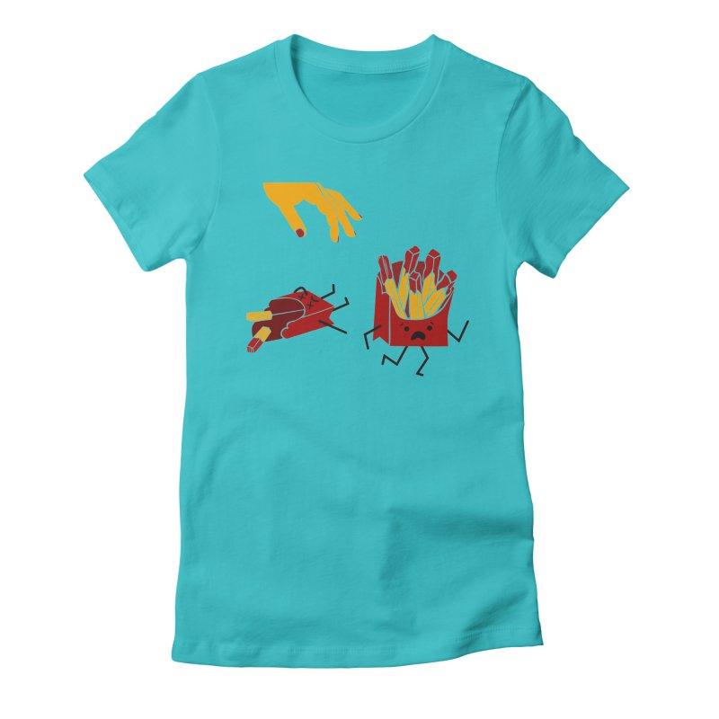 Corre por tú Vida Women's Fitted T-Shirt by damian's Artist Shop