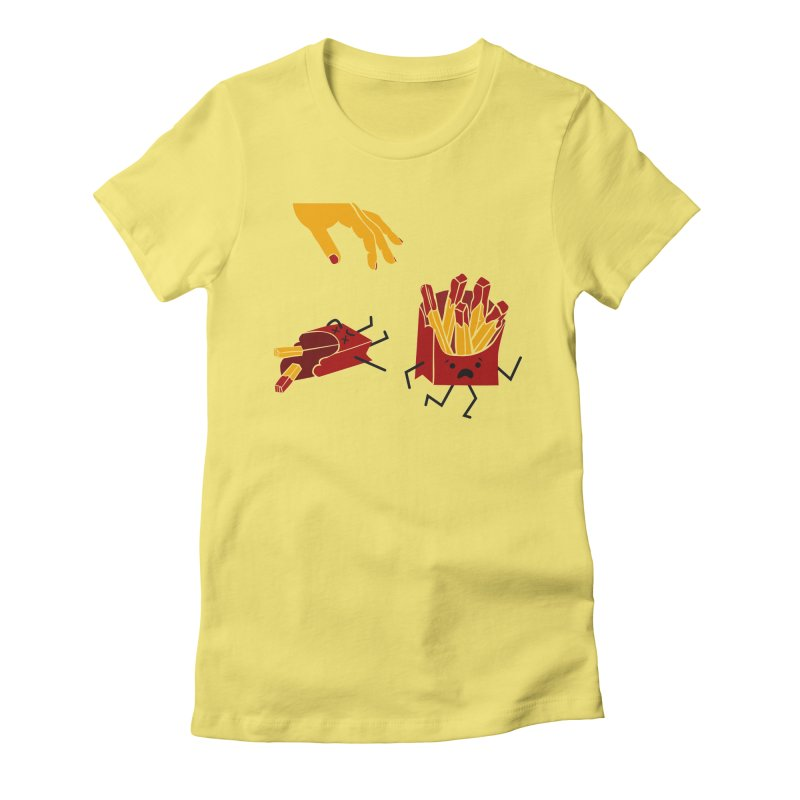 Corre por tú Vida Women's Fitted T-Shirt by damian's Artist Shop