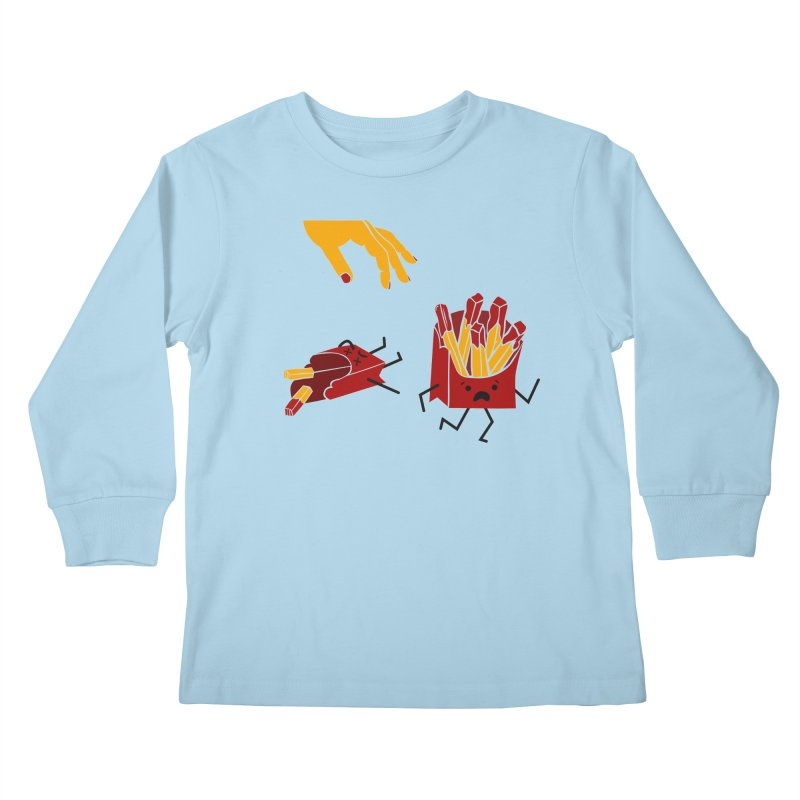 Corre por tú Vida Kids Longsleeve T-Shirt by damian's Artist Shop