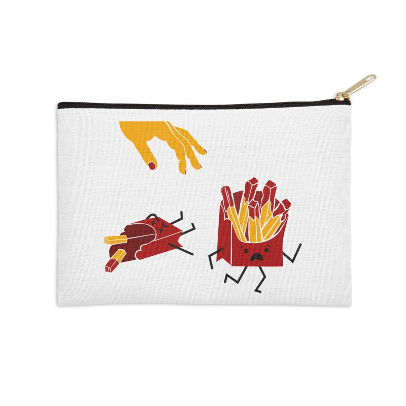 Corre por tú Vida Accessories Zip Pouch by damian's Artist Shop
