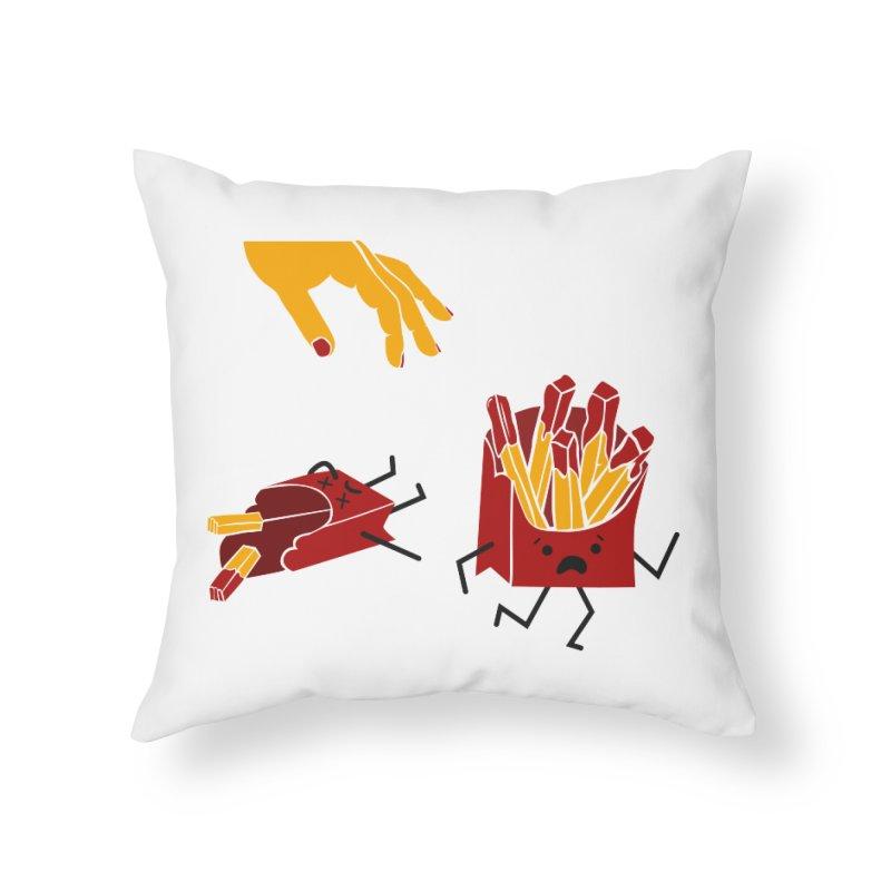 Corre por tú Vida Home Throw Pillow by damian's Artist Shop