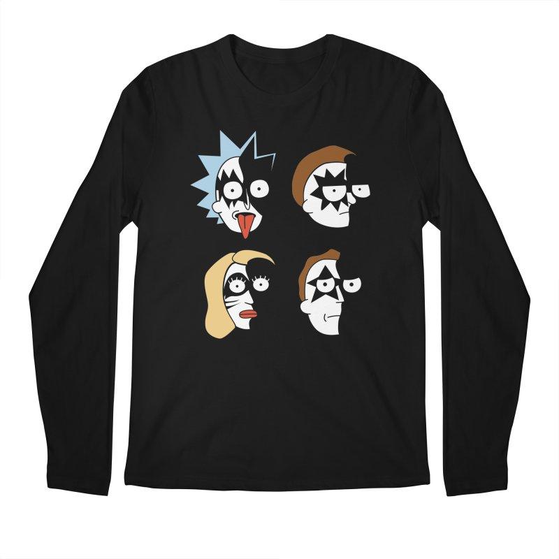 faces Men's Regular Longsleeve T-Shirt by damian's Artist Shop