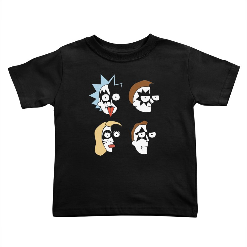 faces Kids Toddler T-Shirt by damian's Artist Shop