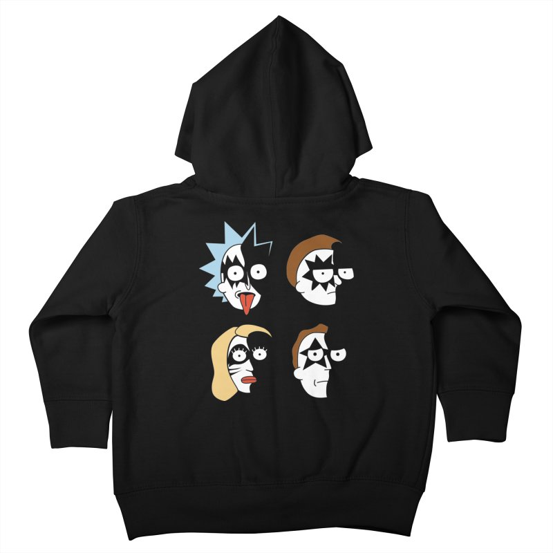 faces Kids Toddler Zip-Up Hoody by damian's Artist Shop
