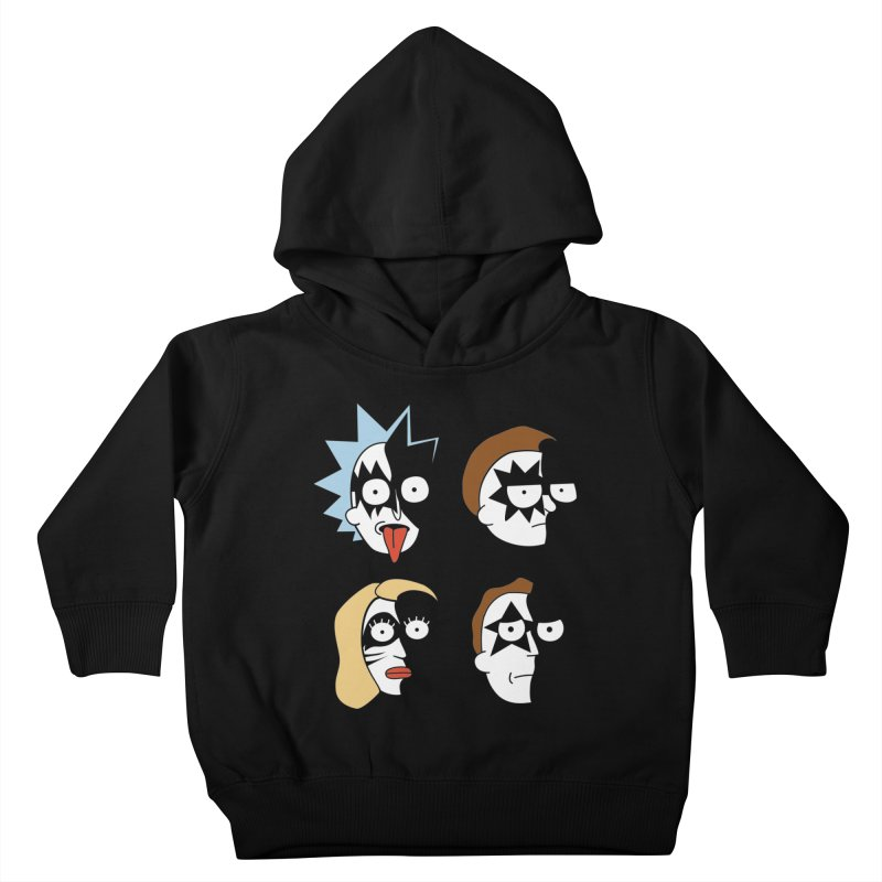 faces Kids Toddler Pullover Hoody by damian's Artist Shop