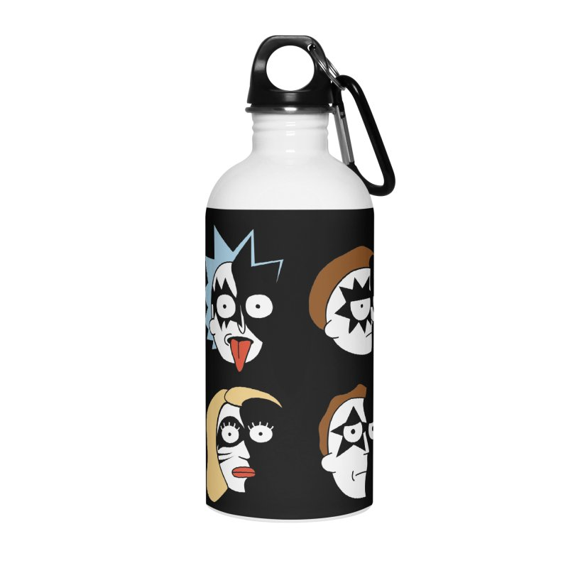 faces Accessories Water Bottle by damian's Artist Shop