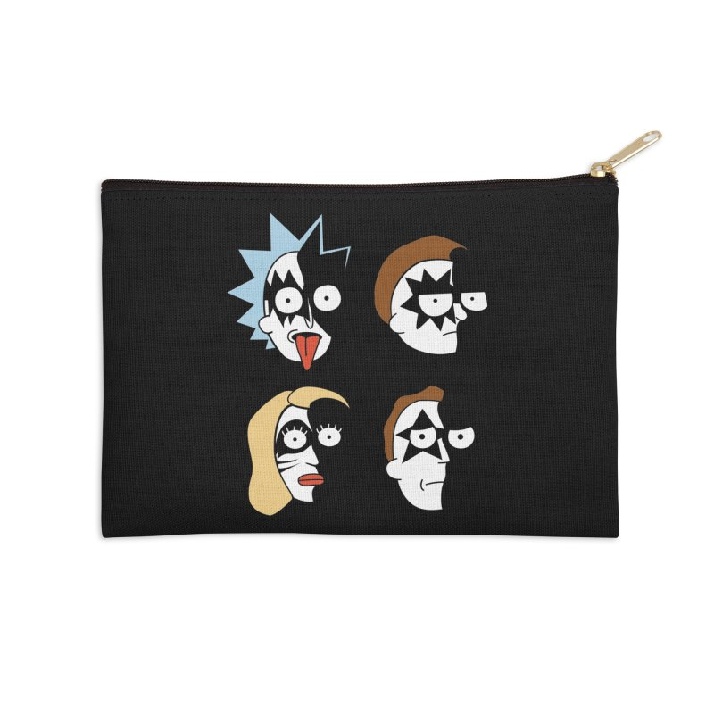 faces Accessories Zip Pouch by damian's Artist Shop
