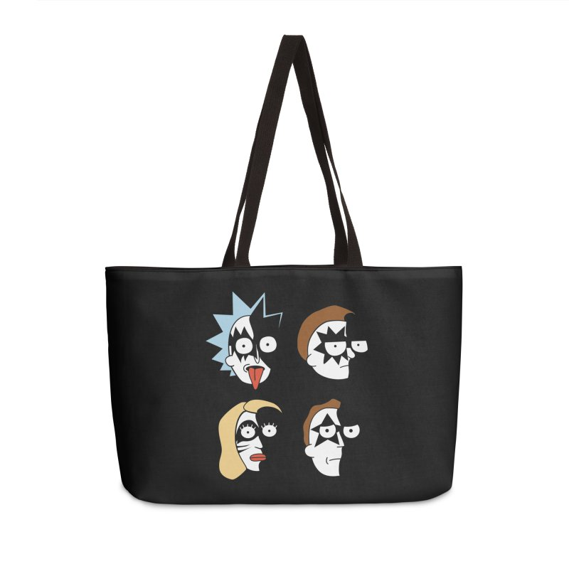 faces Accessories Weekender Bag Bag by damian's Artist Shop